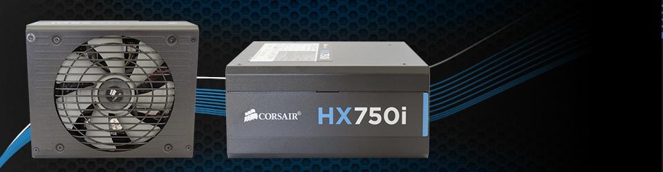 Corsair HX750i Slider