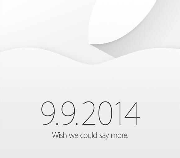 Apple avisa, el 9 de Septiembre tendremos evento