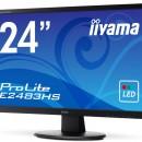 Iiyama ProLite E2483HS: Monitor gama de entrada de 24″