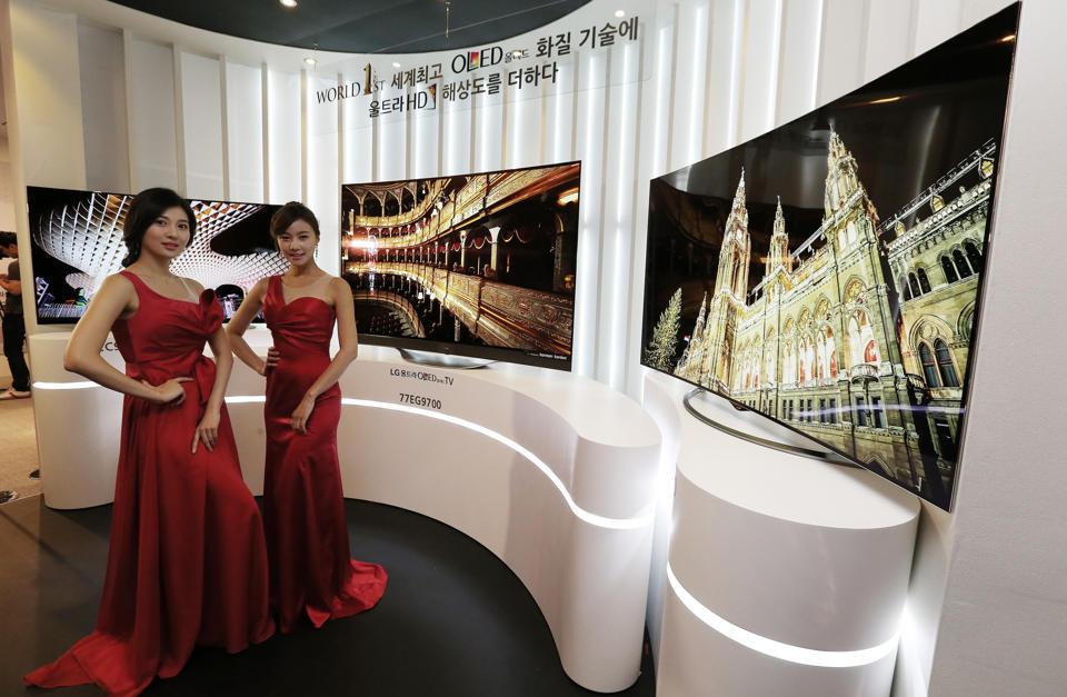 LG tiene el primer televisor OLED 4K, no es nada barato