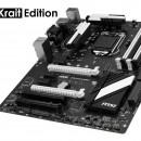 MSI Z97 SLI Krait: Preciosa placa base en color blanco y negro