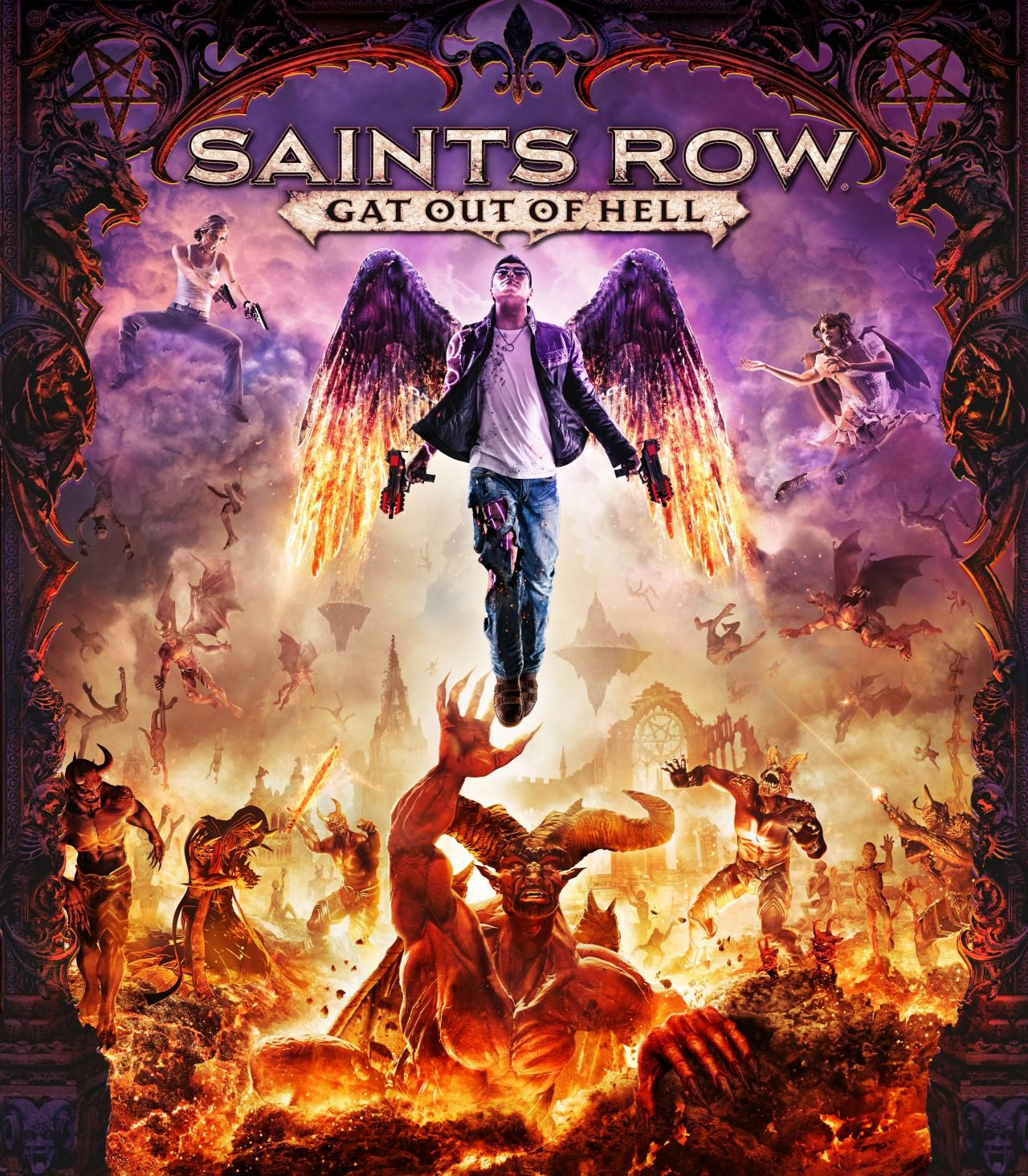 Saints Row: Gat Out of Hell nos llevará al Infierno en Enero