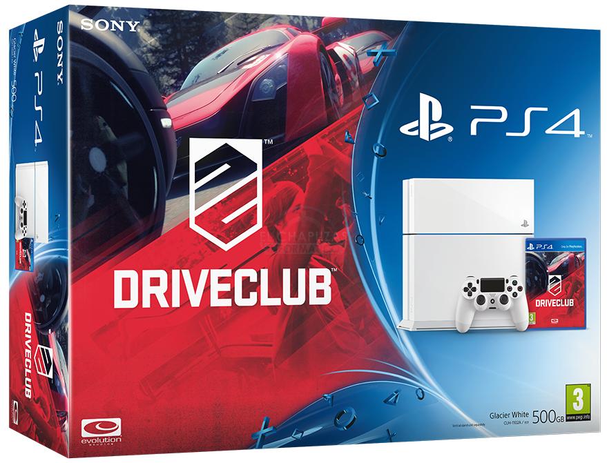 Glacier White PlayStation 4 bundle