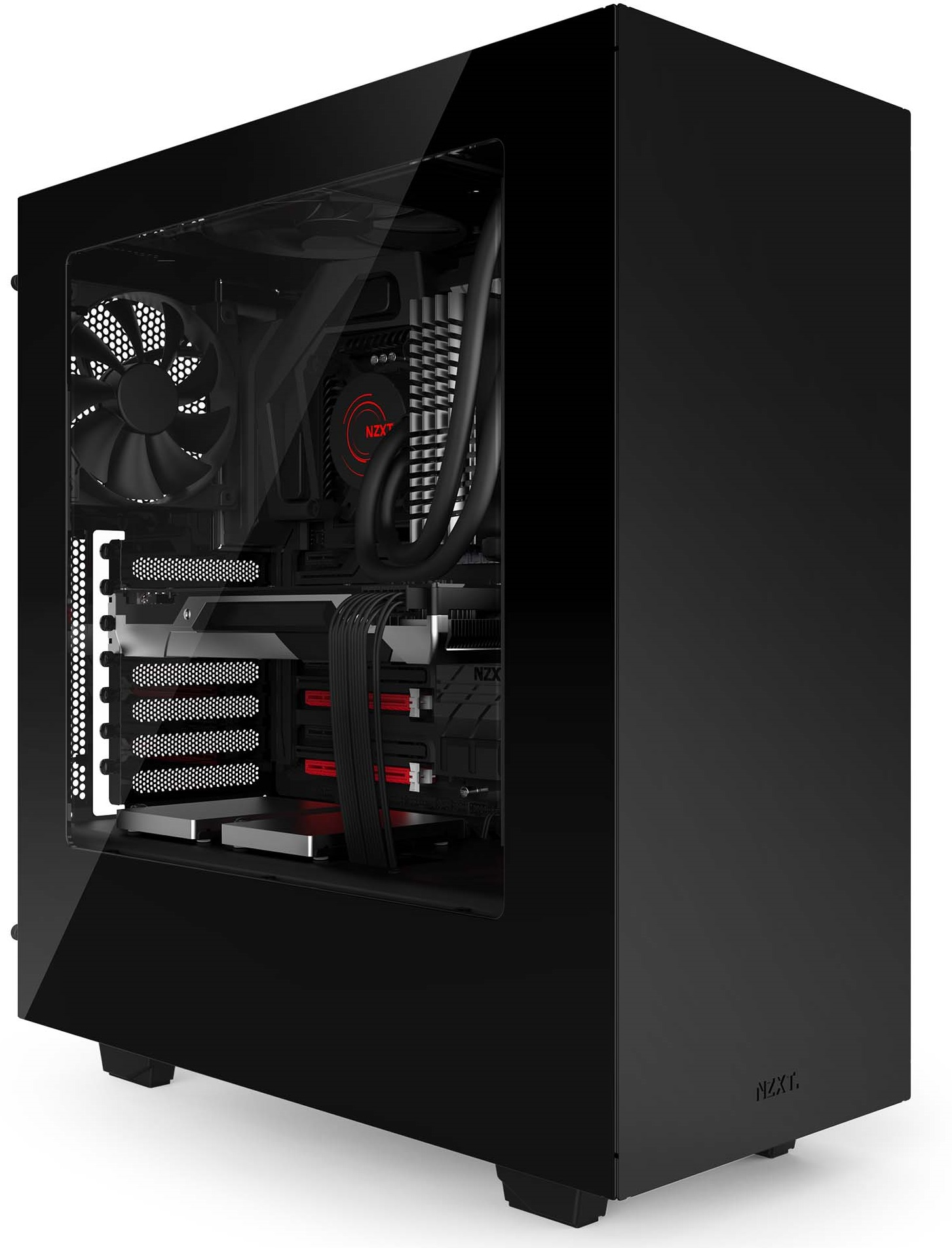 NZXT S340 (NZXT Source 340) (2)