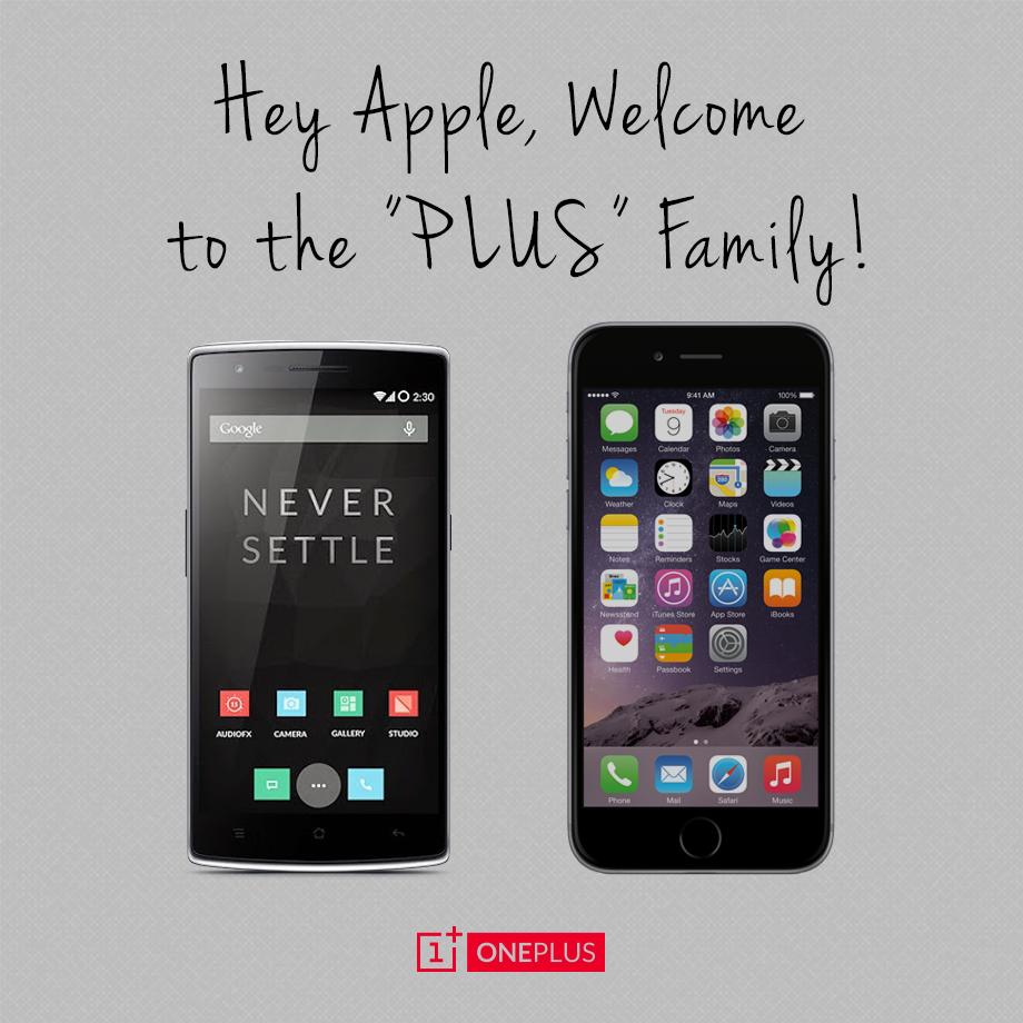 comparacion iphone 6 vs oneplus one