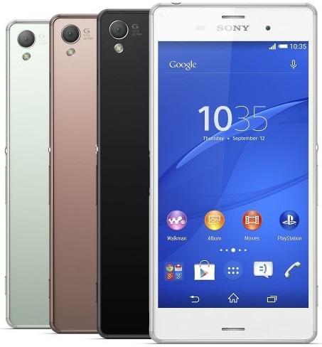 Sony Xperia Z3 Compact Oficial
