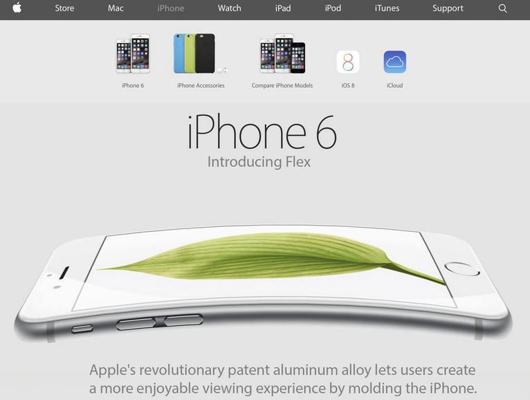 iPhone 6 iFlex - Humor