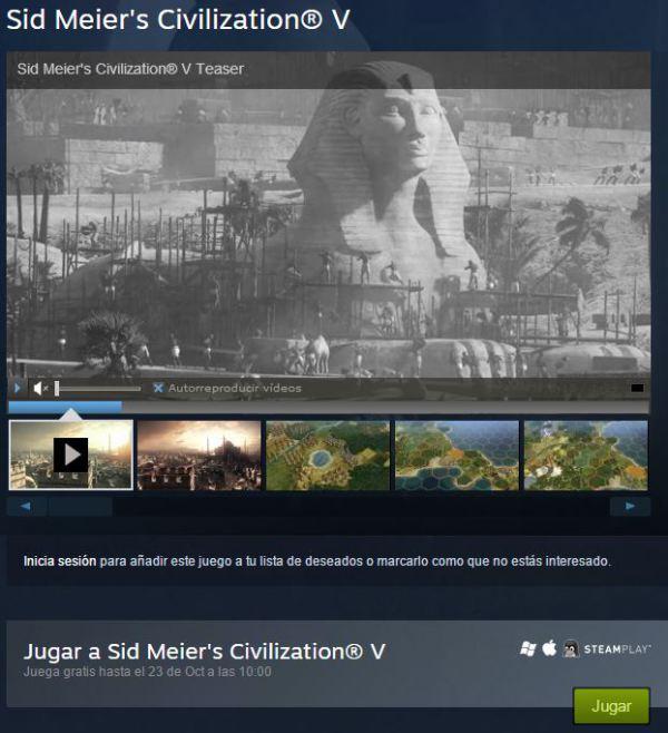 Civilization V descarga gratis