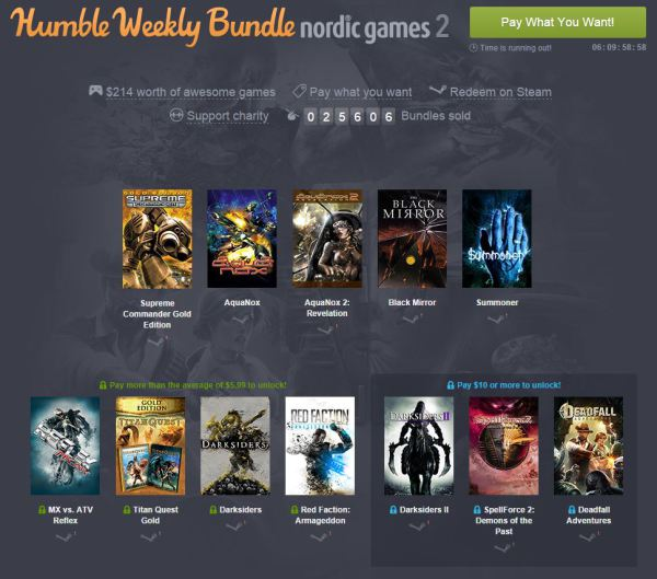 Humble Bundle Nordic Games