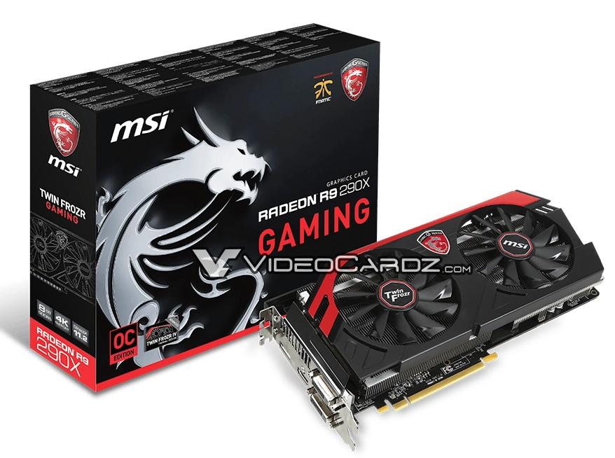 MSI Radeon R9 290X GAMING 8GB
