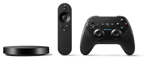 Nexus Player 2 600x246 Nexus Player, el Android TV fabricado por Asus