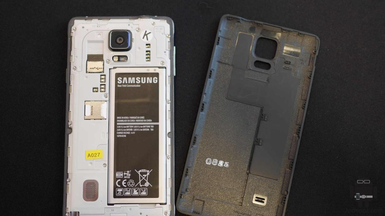 Samsung Galaxy Note 4 Batería