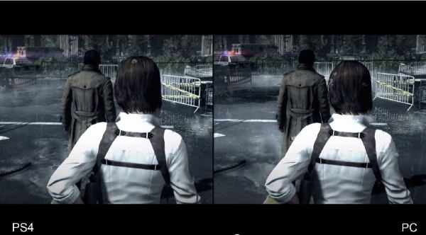 The Evil Within PS4 vs PC