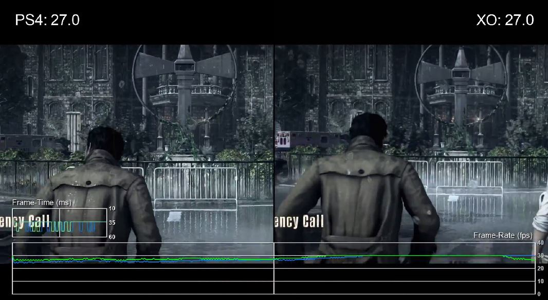 The Evil Within en PlayStation 4 vs Xbox One