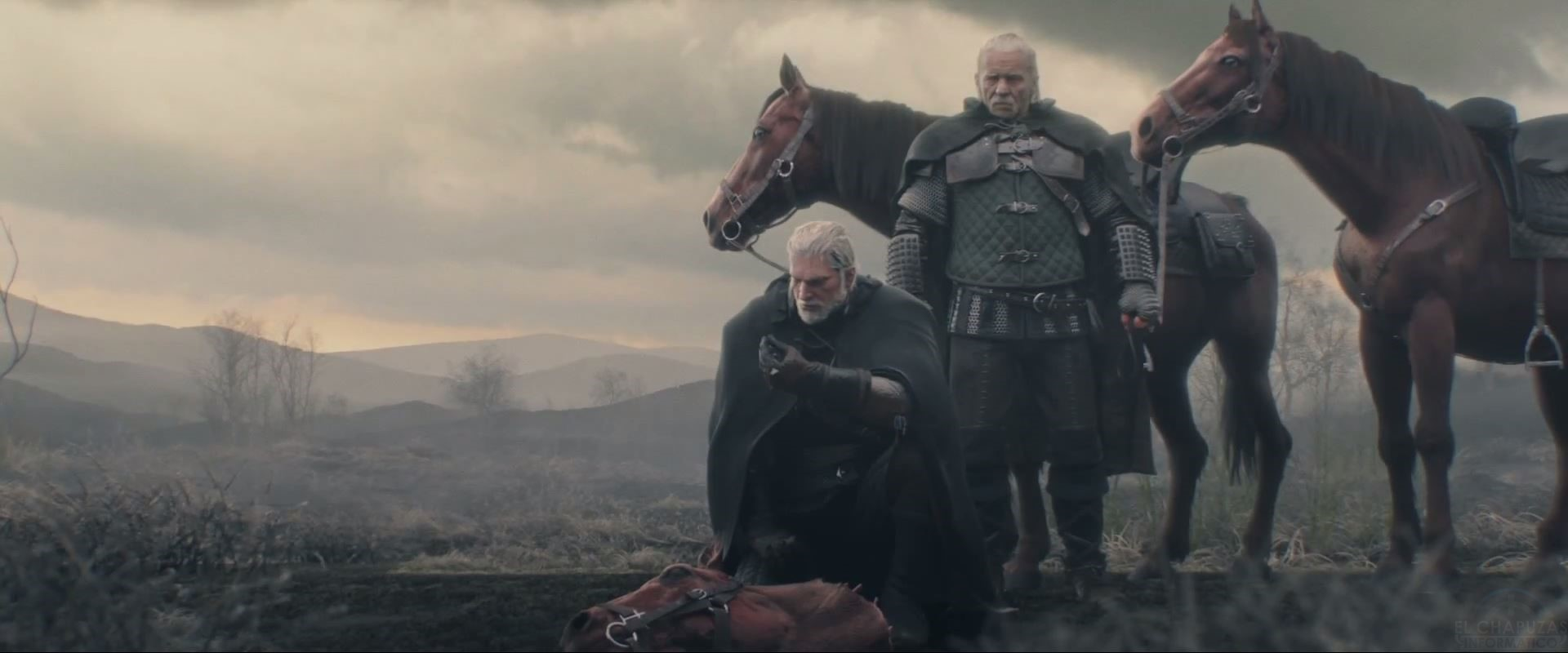 The Witcher 3 Wild Hunt cinematica