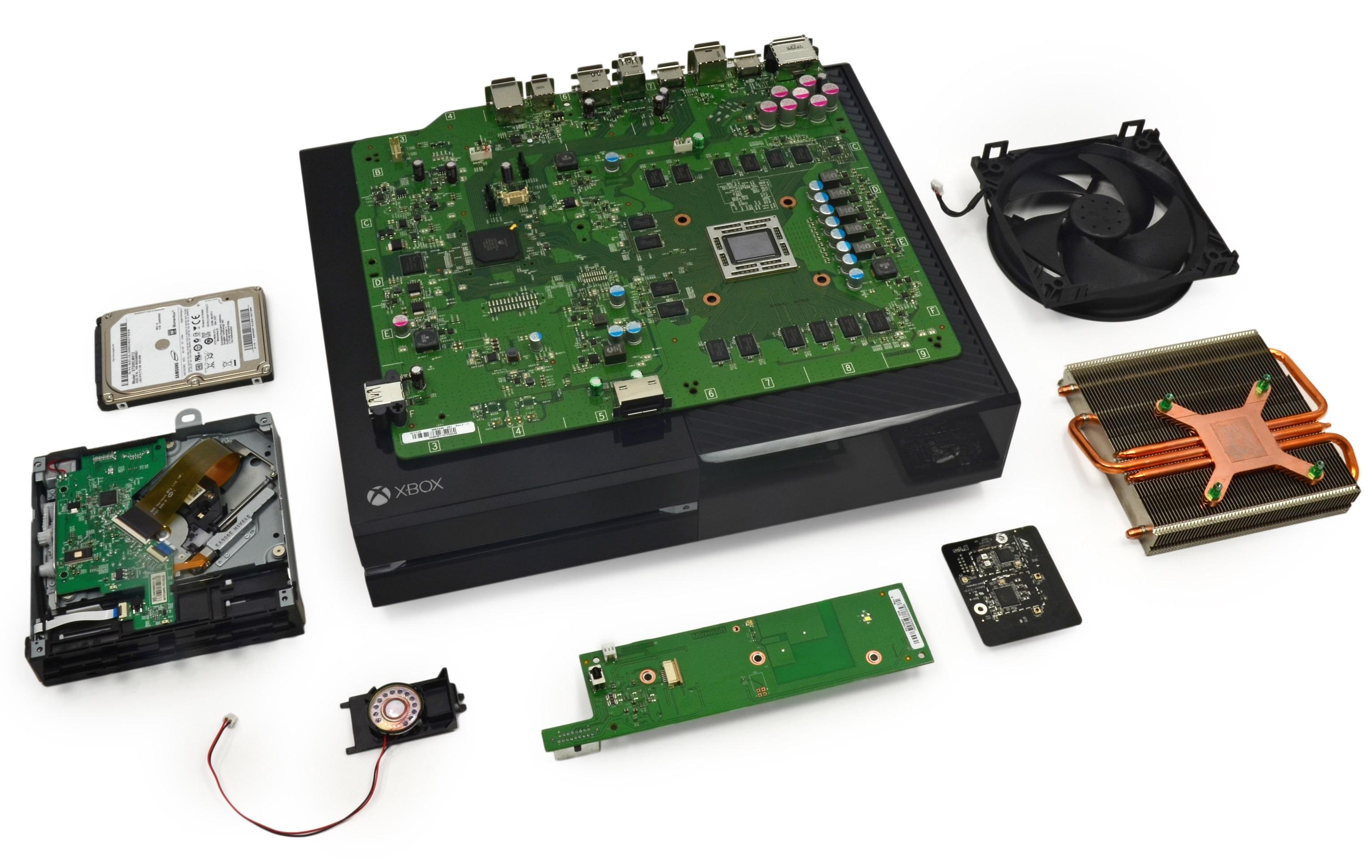Xbox One desmontada