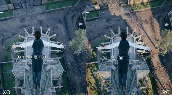 Assassins Creed Unity Xbox One vs PC