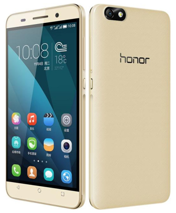 Huawei Honor 4X 600x726 El Huawei Honor 4X ya está disponible