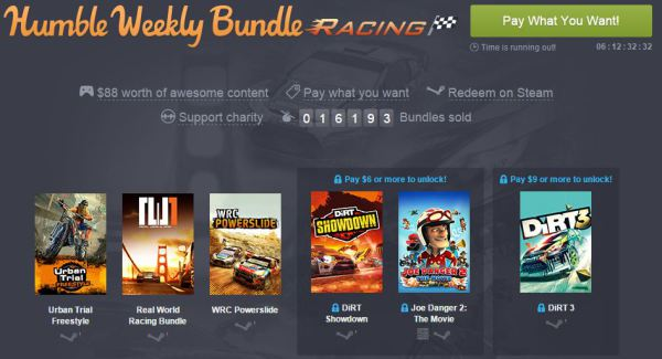 Humble Bundle Racing