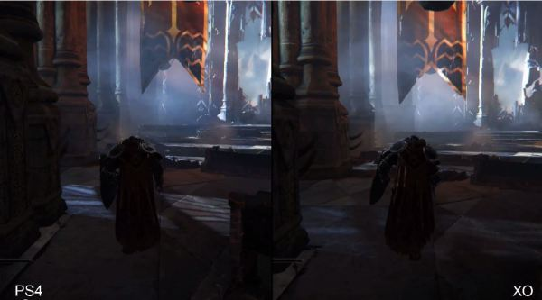 Lords of the Fallen en PlayStation 4 vs Xbox One