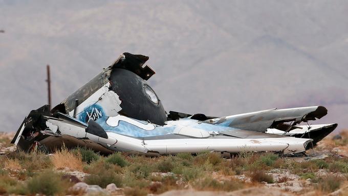 SpaceShipTwo accidentada