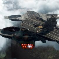 portaaviones volador - The Avengers