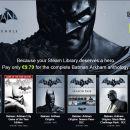 Bundle Stars: Saga Batman por solo 9.79€, compra obligada