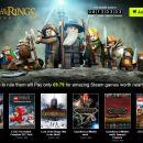Bundle Stars: 5 juegos de El Señor de Los Anillos por 9.79€
