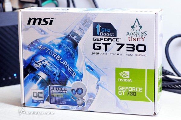 MSI GeForce GT 730 Assassin's Creed Unity Edition (1)