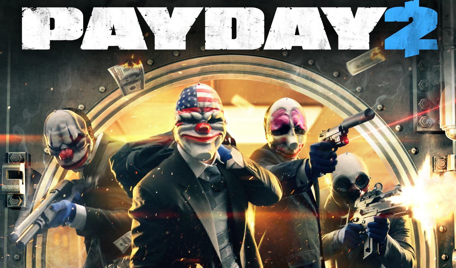 Descarga gratis PAYDAY 2, prepara las armas, hay que robar un banco