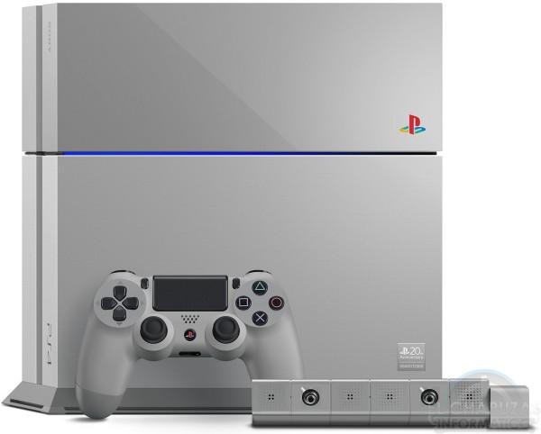 PlayStation 4 20th Aniversario Gris