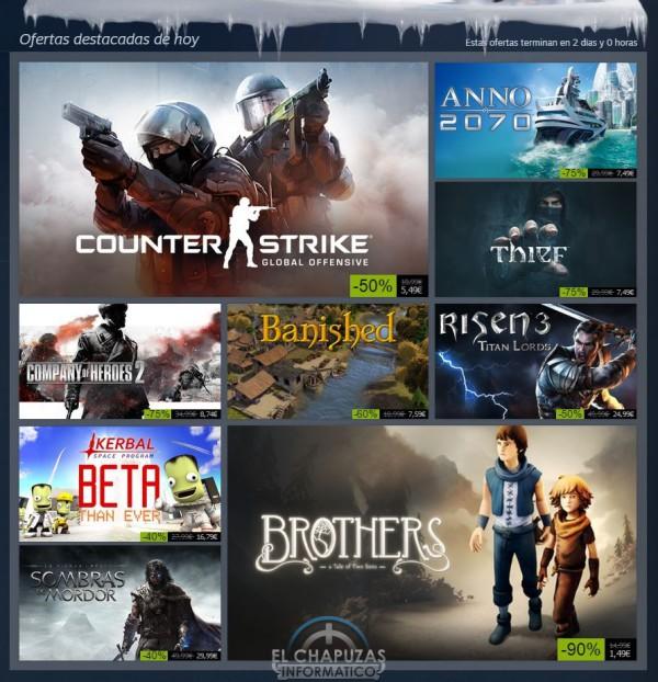 Rebajas Navideñas de Steam 26 de diciembre de 2014 (1)