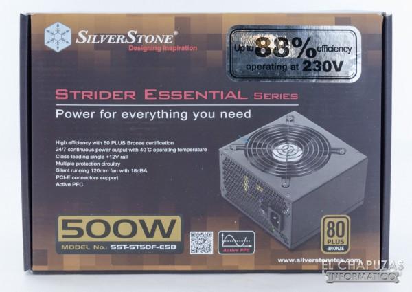 SilverStone Strider Essential 80+ Bronze 01