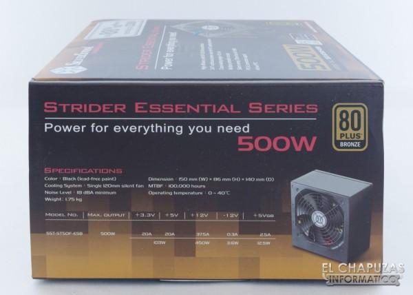 SilverStone Strider Essential 80+ Bronze 02
