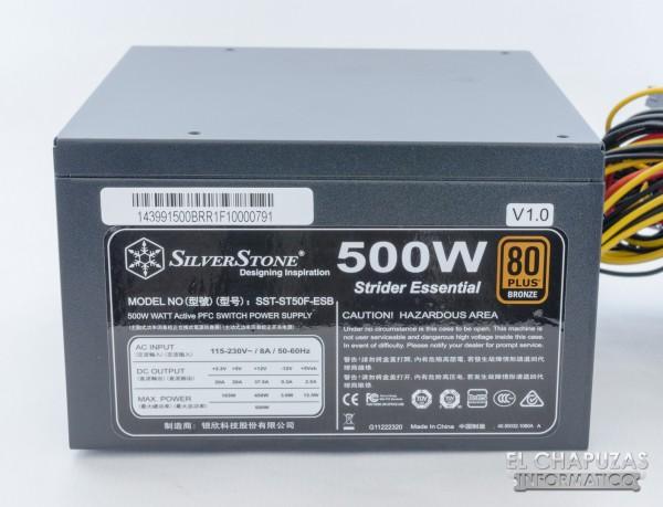 SilverStone Strider Essential 80+ Bronze 10