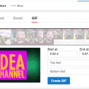 YouTube ahora te permite crear GIFs