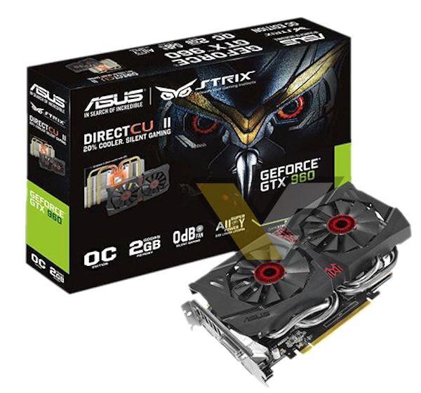 Asus STRIX GeForce GTX 960 OC (STRIX-GTX960-DC2OC-2GD5) (1)
