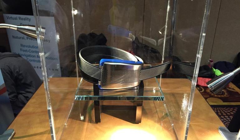 #CES2015 – Belty: Cinturón que te avisará si comes demasiado