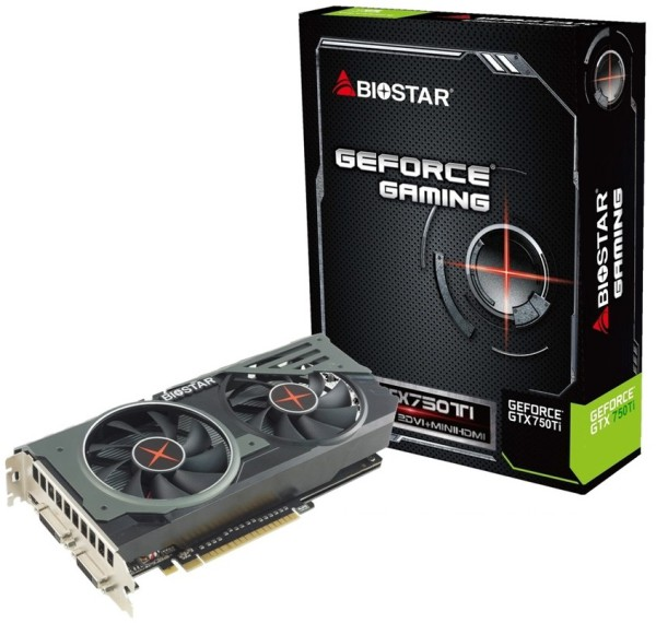 Biostar GeForce GTX 750 Ti Gaming OC