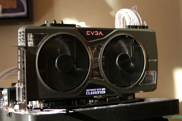 EVGA GeForce GTX 980 Classified Kingpin Edition