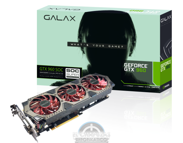 GALAX GeForce GTX 960 SOC Super Overclocked