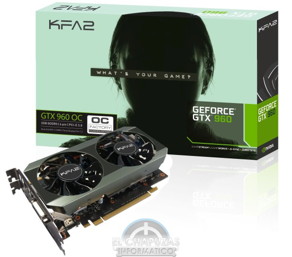 Galax GeForce GTX 960 OC