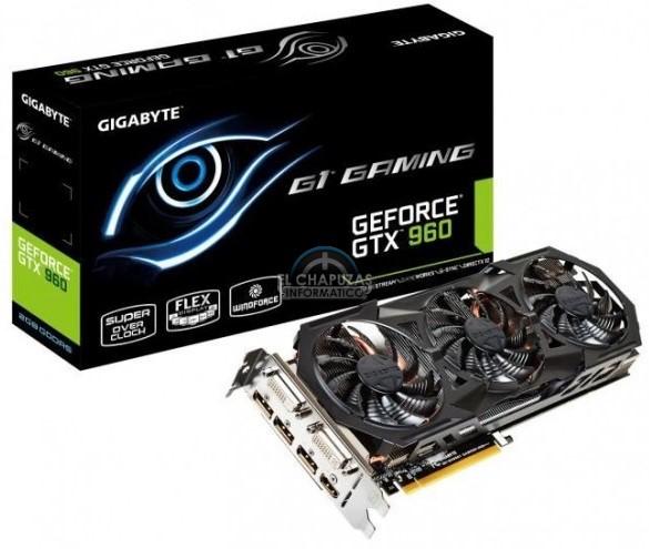 Gigabyte GeForce GTX 960 G1 Gaming oficial (1)