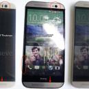 HTC One (M9) fotografiado junto al HTC One (M8)