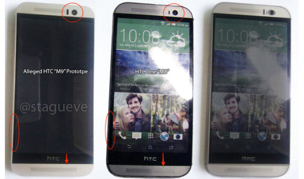 HTC One (M9) vs HTC One (M8)