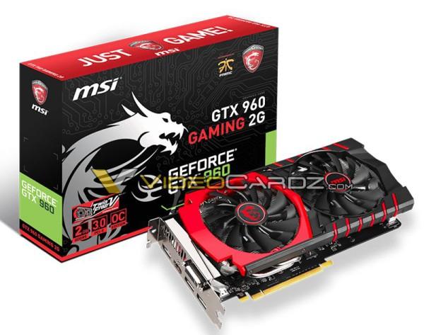 MSI GeForce GTX 960 GAMING 2G (1)