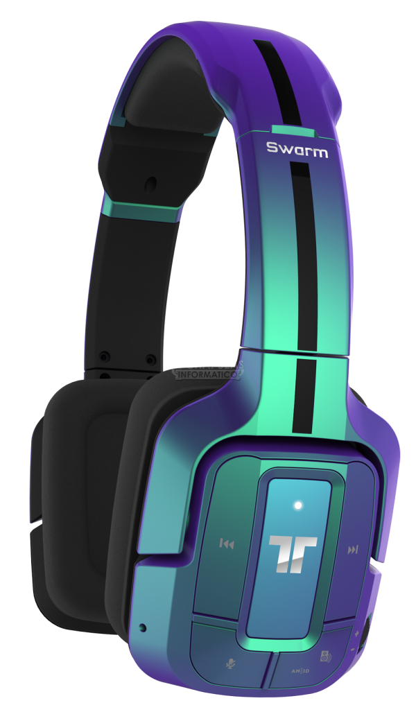ces2015 mad catz tritton swarm auriculares gaming. Black Bedroom Furniture Sets. Home Design Ideas