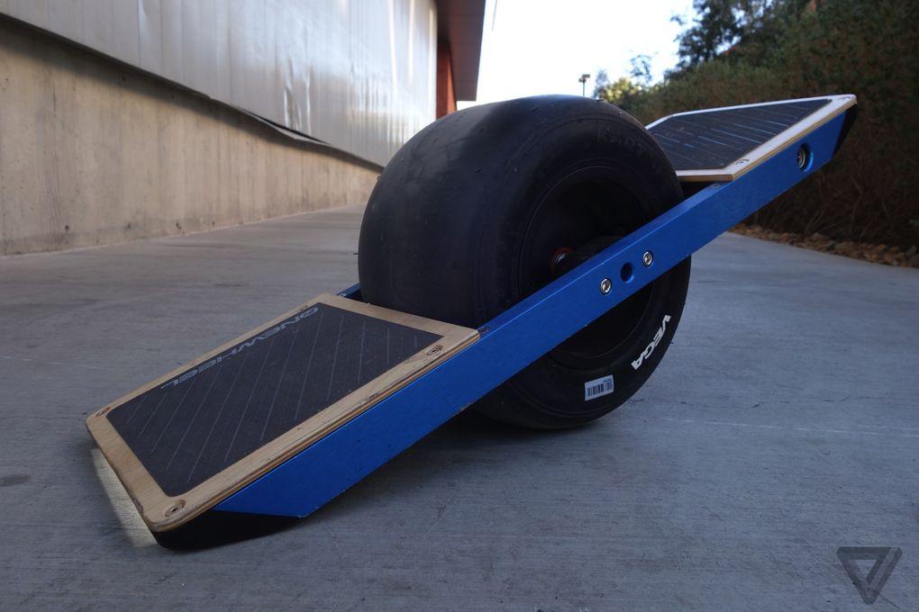 #CES2015 – Onewheel: Skate eléctrico con neumático de Kart