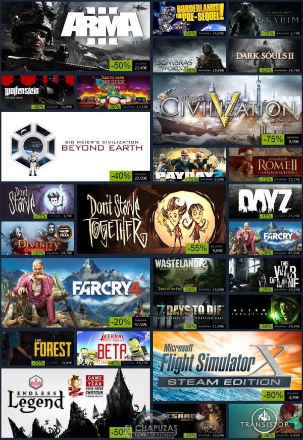 Rebajas Navideñas de Steam 2 enero 2014