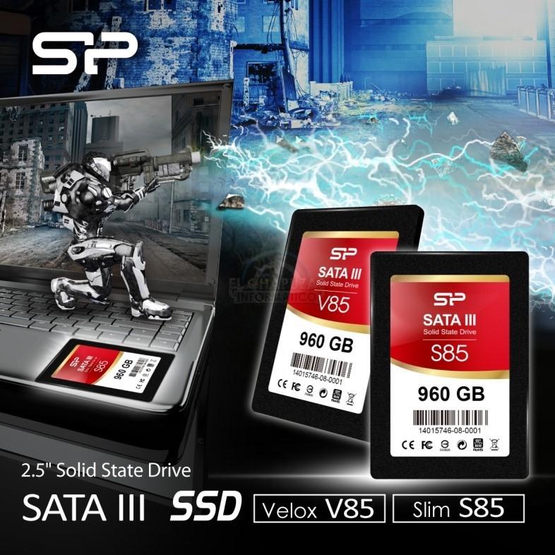 Silicon Power Slim S85 & Silicon Power Velox V85